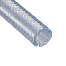 XL - Lightweight Clear Braided PVC Hose