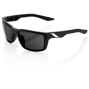 100% Daze Soft Tact Black with Smoke Lens