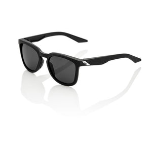 100% Hudson Soft Tact Black with Smoke Lens