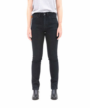 SA1NT Women's Unbreakable Stretch High Rise Skinny Jeans - Black