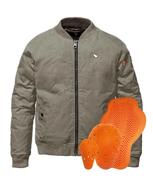 SA1NT Flight Jacket + D3O Armour