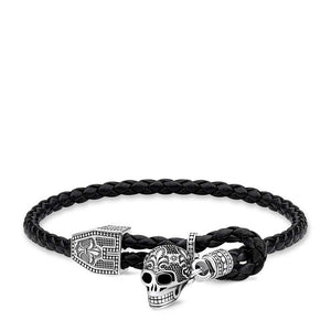 Thomas Sabo Skull Toggle Bracelet 15-25cm