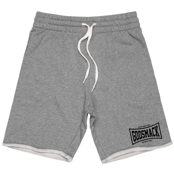 GS Athletic Heather Grey Sweat Shorts