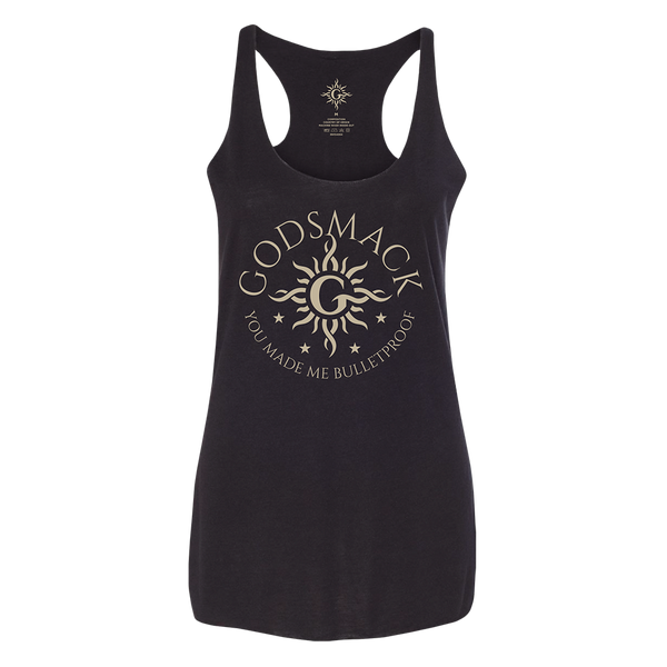 Bulletproof Ladies Racerback Tank
