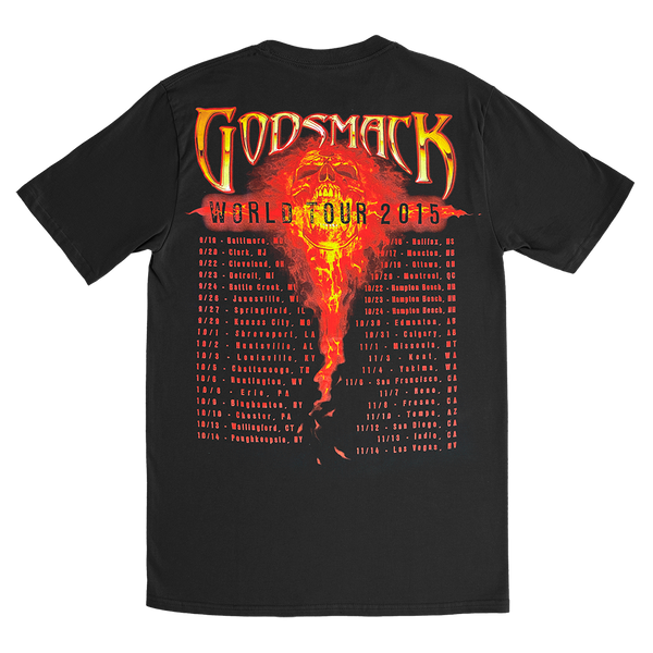 1000hp Fall 2015 Tour Tee