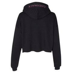 Diamond Logo Ladies Cropped Hoodie