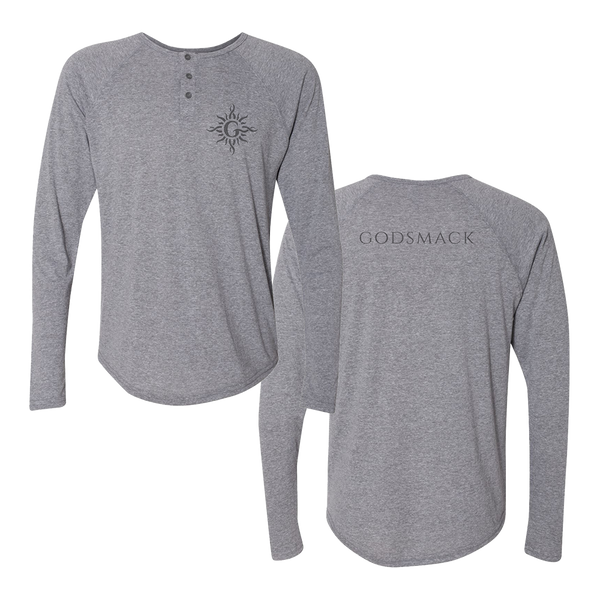 G Sun Heather Grey Henley