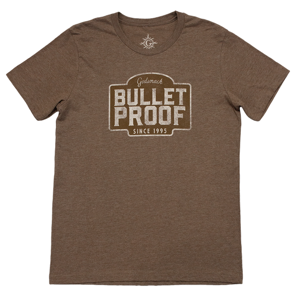 Bulletproof Distressed Logo Tee