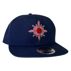 Boston Sun Navy Snapback