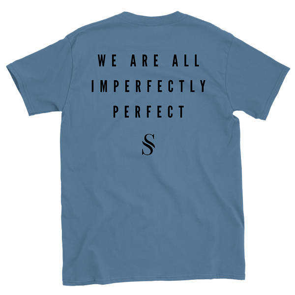 Imperfectly Perfect Indigo Blue Tee