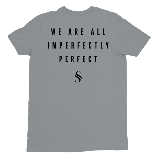 Imperfectly Perfect Silver Tee