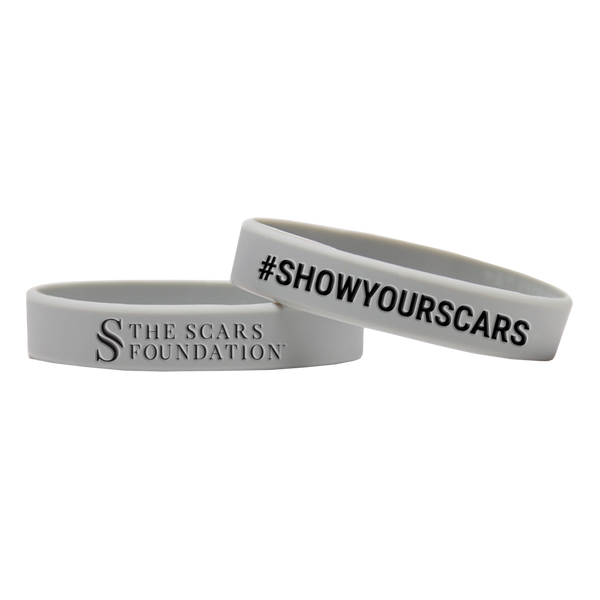 Show Your Scars Silicone Wristband