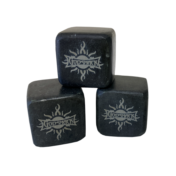 Logo Whiskey Stone Set