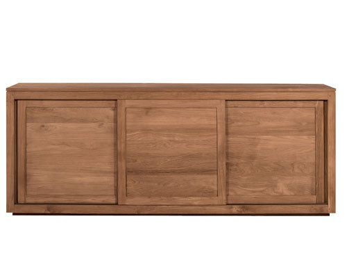 ETHNICRAFT TEAK PURE SIDEBOARD - The Banyan Tree Furniture & Homewares