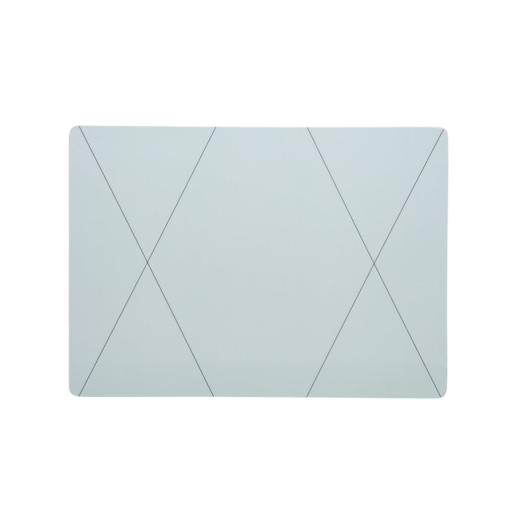 CROSS SEAFOAM RECTANGLE PLACEMAT
