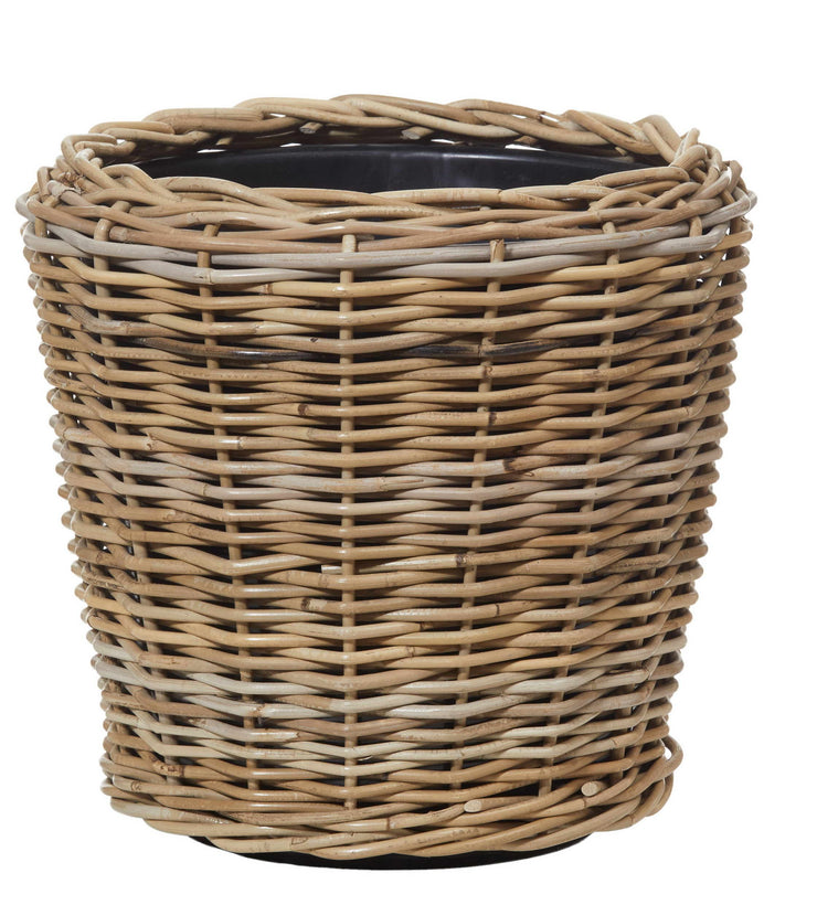 RATTAN POT WITH TUB - The Banyan Tree Furniture & Homewares
