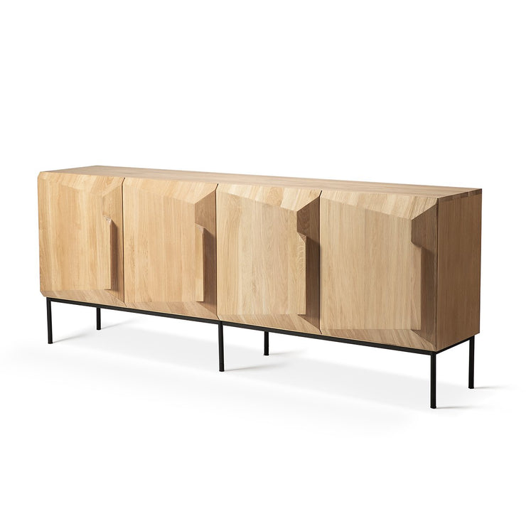ETHNICRAFT OAK STAIRS SIDEBOARD