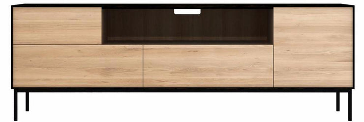 OAK BLACKBIRD TV UNIT ETHNICRAFT