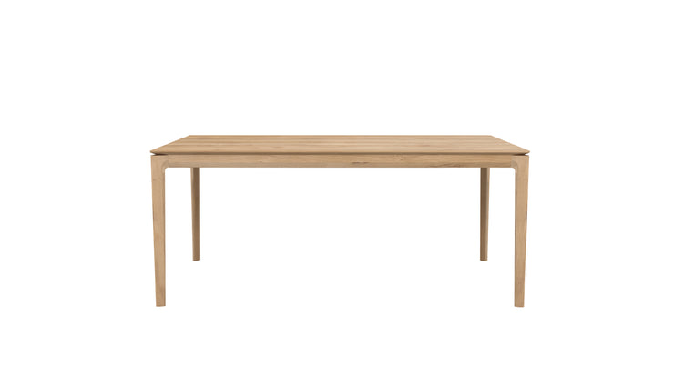 ETHNICRAFT OAK BOK EXTENSION DINING TABLE