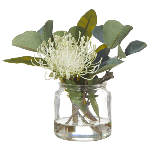 PIN CUSHION MIX-GLASS JAR