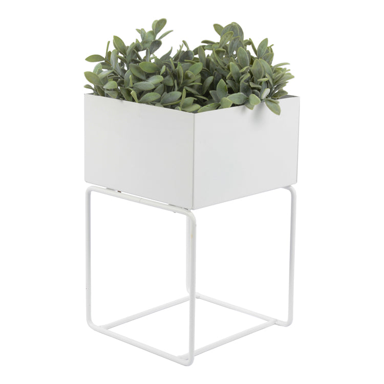 SQUARE METAL POT STAND