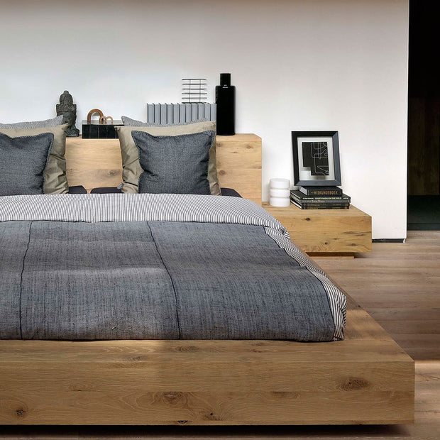 ETHNICRAFT OAK MADRA BED