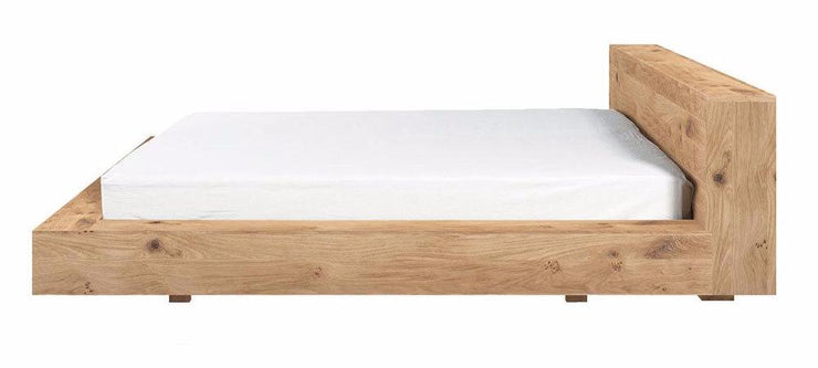 ETHNICRAFT OAK MADRA BED - The Banyan Tree Furniture & Homewares