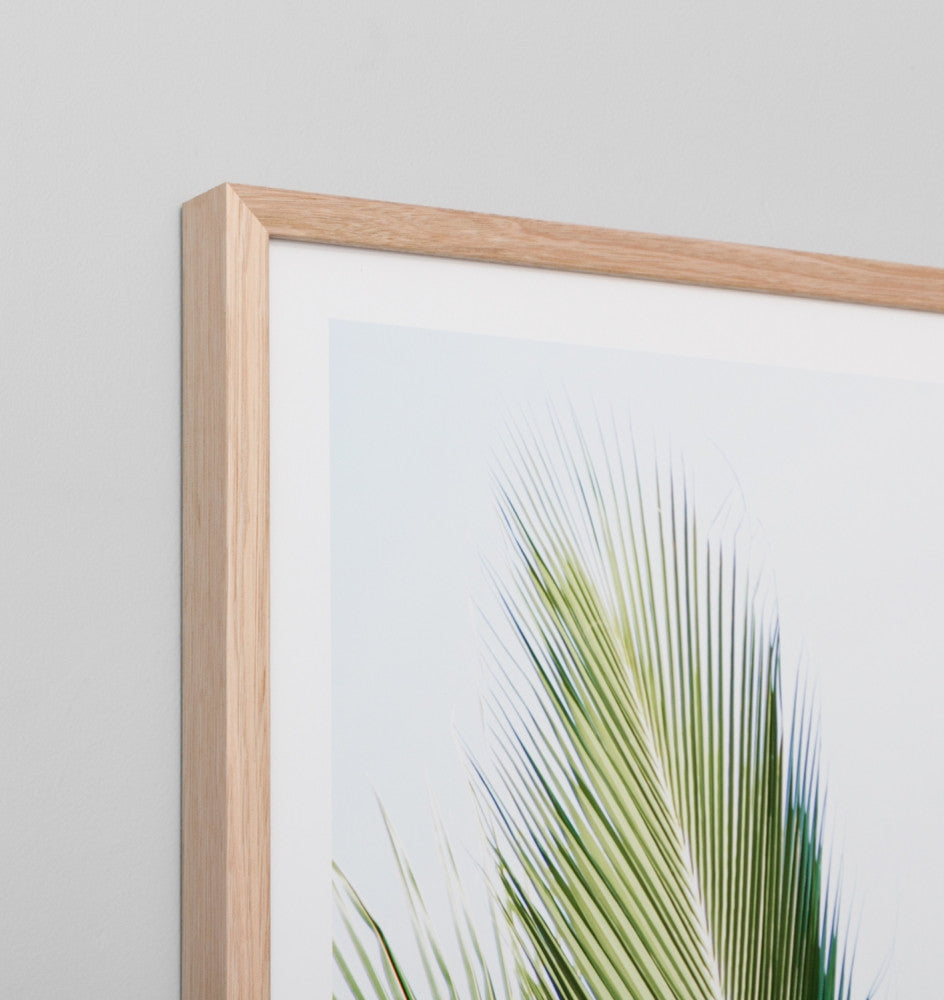 TROPIC VIEW · FRAMED PRINT