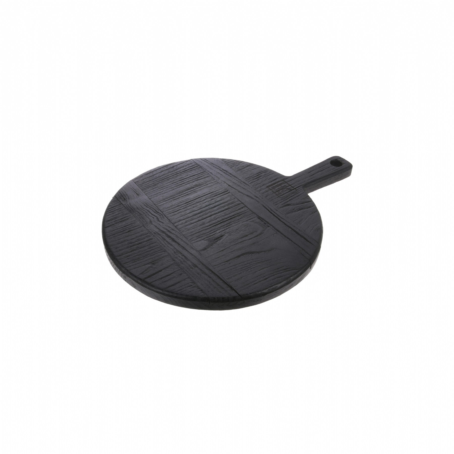 HK LIVING BLACK BREADBOARD ROUND