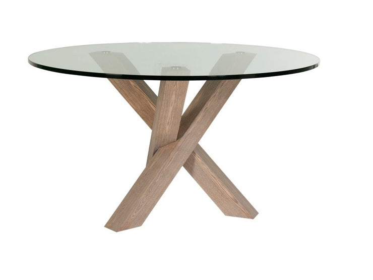 GLOBEWEST HUDSON ROUND DINING TABLE - The Banyan Tree Furniture & Homewares