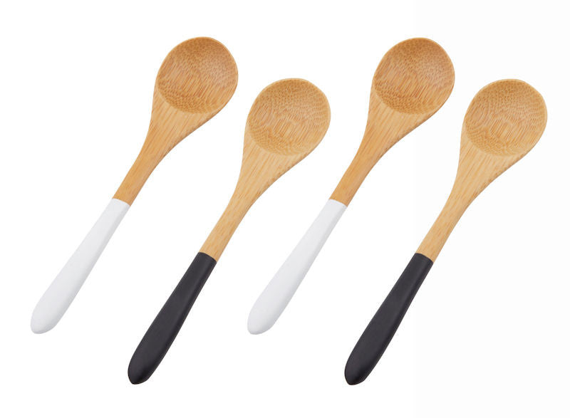 AMHARA BAMBOO DIP SPOON SET 4
