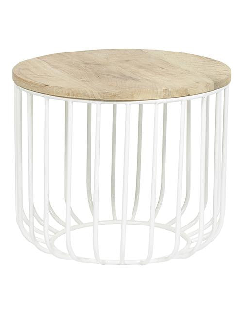 GLOBEWEST FLINDERS SIDE TABLE