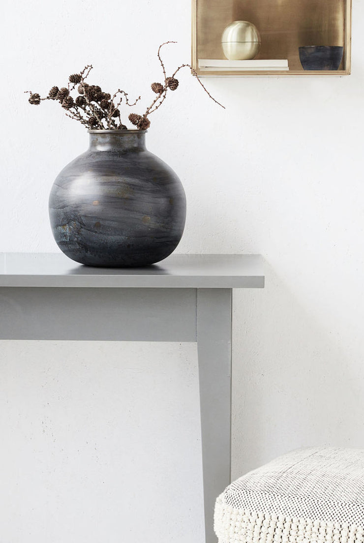 ETNIK VASE · MIDNIGHT BLUE - The Banyan Tree Furniture & Homewares