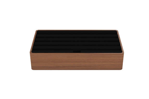 ALL DOCK LARGE - WALNUT BASE | BLACK TOP