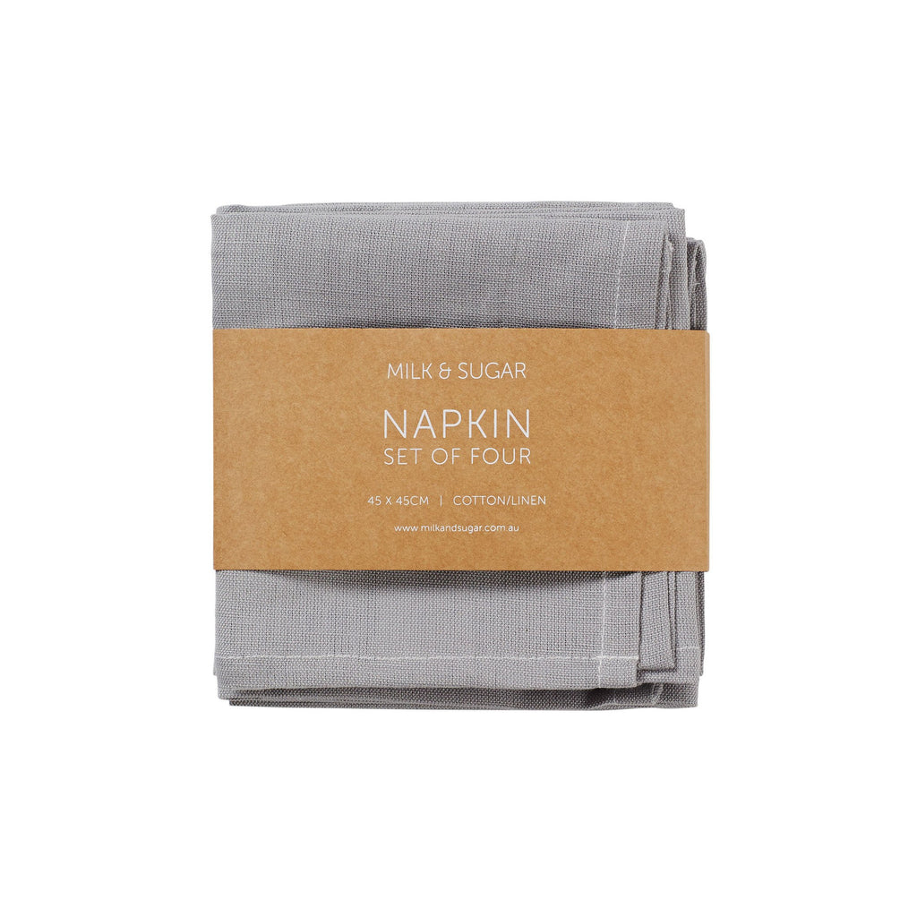 COTTON LINEN NAPKIN SET