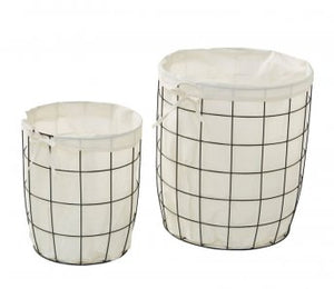 PERRY METAL HAMPER BASKETS