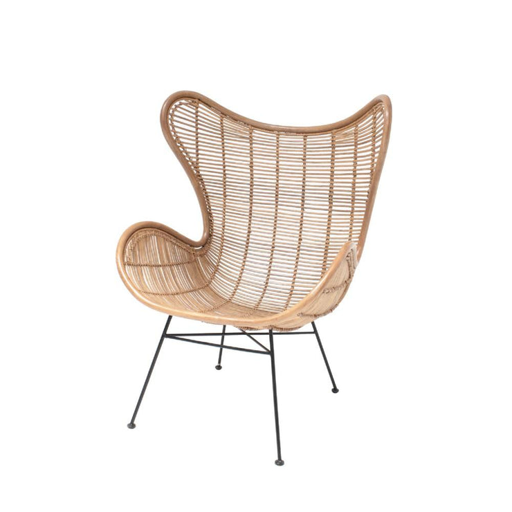 HK LIVING RATTAN EGG CHAIR