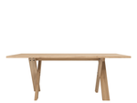 ETHNICRAFT OAK PETTERSSON DINING TABLE