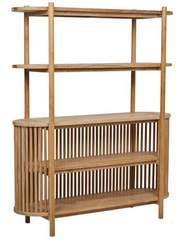 GLOBEWEST TULLY BOOKCASE - The Banyan Tree Furniture & Homewares