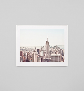 NEW YORK MORNING · FRAMED PRINT