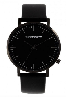 CLASSIC WATCH | BLACK ON BLACK