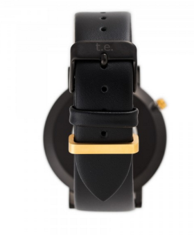 MINIMALIST WATCH | MATTE BLACK & GOLD