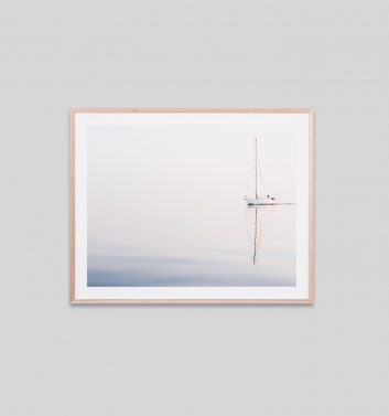 CALM WATERS · FRAMED PRINT