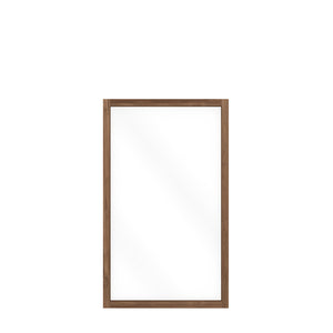 ETHNICRAFT TEAK LIGHT FRAME MIRROR