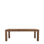 ETHNICRAFT TEAK KUBUS EXTENDABLE DINING TABLE
