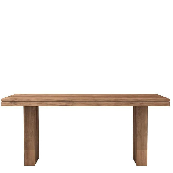 ETHNICRAFT TEAK DOUBLE DINING TABLE