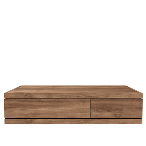 ETHNICRAFT TEAK BURGER COFFEE TABLE
