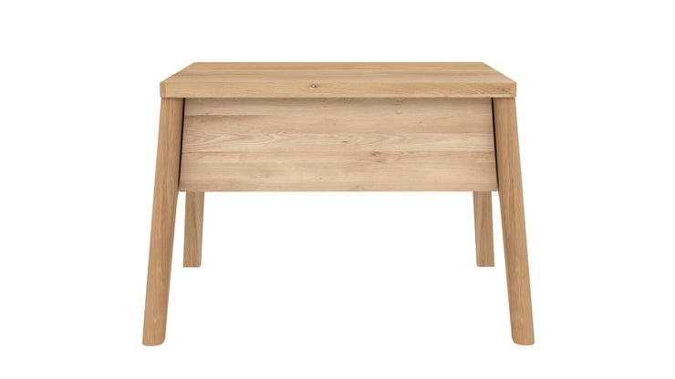 ETHNICRAFT OAK AIR NIGHT STAND - The Banyan Tree Furniture & Homewares