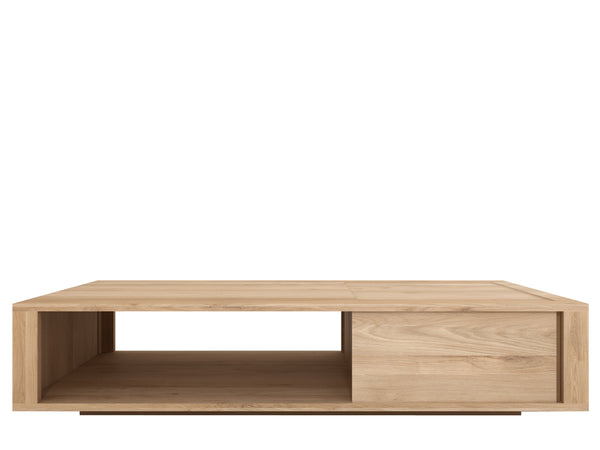 ETHNICRAFT OAK SHADOW COFFEE TABLE