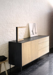 ETHNICRAFT OAK BLACKBIRD SIDEBOARD - The Banyan Tree Furniture & Homewares